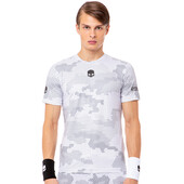 Hydrogen Men's Tech Camo Tee Reflex White