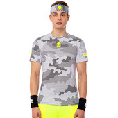 Hydrogen Men's Tech Camo Tee Black White