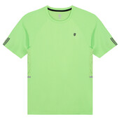 K-Swiss Men's Hypercourt Crew 2 Tee Soft Neon Green