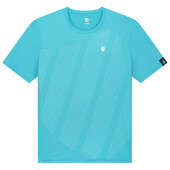 K-Swiss Men's Hypercourt Shield Crew Tee Scuba Blue