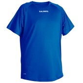 Salming Junior Granite Game Tee Royal Blue