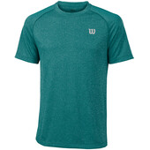 Wilson Men's Core Crew T-Shirt Deep Lake Tropic Green