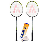 Ashaway A200 Badminton Leisure Set Bundle