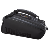 Wilson Super Tour Pro Staff 15 Racket Bag Black