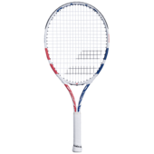 Babolat Drive Junior 24 Tennis Racket 2021 White Pink Blue