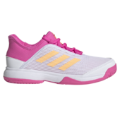 Adidas Adizero Club Junior Tennis Shoes White Pink