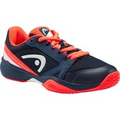 Head Kids Sprint 2.5 Tennis Shoes - Dark Blue/Neon Red