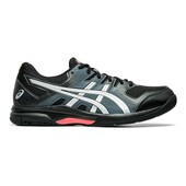 Asics Gel Rocket 9 Men's Shoes Black Sunrise Red