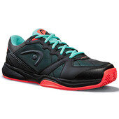 Head Revolt Indoor Court Shoes Black Teal