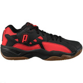 Prince NFS II Men's Indoor Shoes - Black/Red