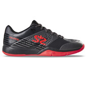 Salming Viper 5 Men's Indoor Shoes Gun Metal Red 2019