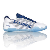 Salming Hawk Womens Indoor Shoes White Navy Blue