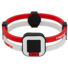 Trionz Duo Loop Bracelet - Red White