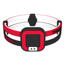 Trionz Duo Loop Bracelet - Black Red