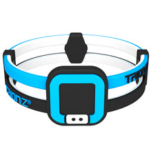 Trionz Duo Loop Bracelet - Black Blue
