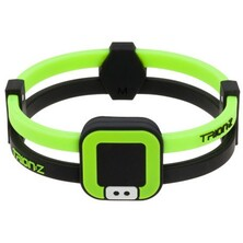 Trionz Duo Loop Bracelet - Black Lime