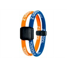 Trionz Dual Loop Bracelet - Black, Orange