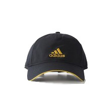 Adidas Six Panel Cool Cap Black Yellow