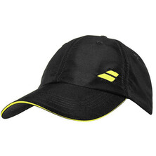 Babolat Basic Logo Cap Black Blazing Yellow