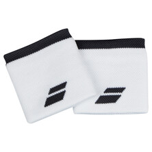 Babolat Logo Wristband 2 Pack White Rabbit