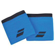 Babolat Logo Wristband 2 Pack Diva Blue Rabbit