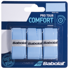 Babolat Pro Tour Comfort Overgrips 3 Pack - Blue