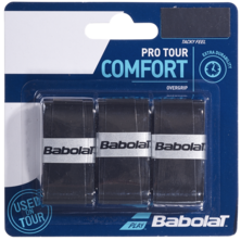 Babolat Pro Tour Comfort Overgrips 3 Pack - Black