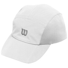 Wilson Men's Rush Woven Stretch Cap White