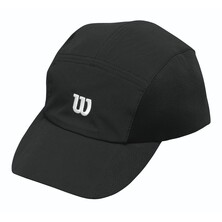 Wilson Men's Rush Stretch Woven Cap Black