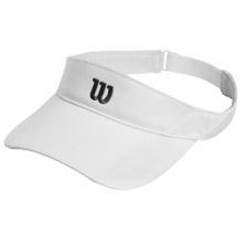 Wilson Rush Knit Visor Ultralight White