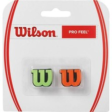 Wilson Pro Feel Vibration Dampener - Green Orange