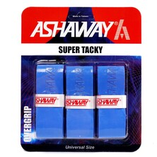 Ashaway Super Tacky Overgrips Pack Of 3 - Blue
