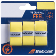 Babolat VS Original Feel Grip 3 Pack - Yellow