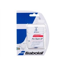 Babolat Pro Team SP Overgrip - 3 Pack - White