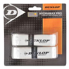 Dunlop Hydramax Pro Replacment Grip 2 Pack White
