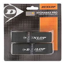 Dunlop Hydramax Pro Replacment Grip 2 Pack Black