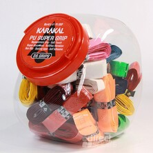 Karakal Pu Super Assorted Grip Tub (36 Grips)