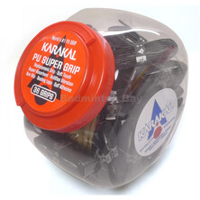 Karakal Pu Super Black Grip Tub (36 Grips)