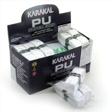 Karakal PU Super Grip White - Box of 24 Grips