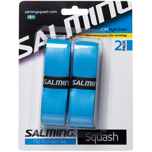 Salming X3M H20 Drain Performance Squash Grip 2 Pack Blue