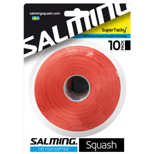 Salming SuperTacky+ Grip 10 Pack Overgrip Brick Red