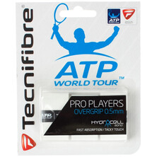 Tecnifibre Pro Players Overgrip White - Pack of 3
