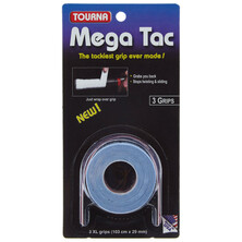 Tourna Mega Tac Grip XL Blue  - 3 Grips