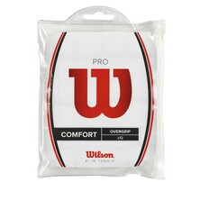 Wilson Pro Overgrip Pack Of 12 White