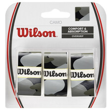 Wilson Camo Overgrip 3 Pack - Black