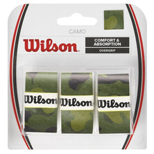 Wilson Camo Overgrip 3 Pack - Green