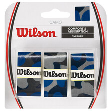 Wilson Camo Overgrip 3 Pack - Blue