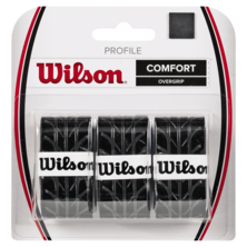 Wilson Profile Overgrip 3 Pack Black
