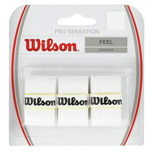 Wilson Pro Sensation Overgrip 3 Pack - White