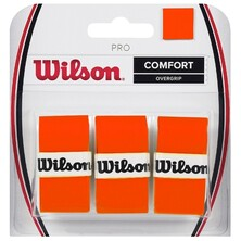 Wilson Pro Overgrip Burn 3 Pack - Orange
